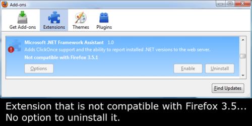 Microsoft's Broken Firefox Plugin